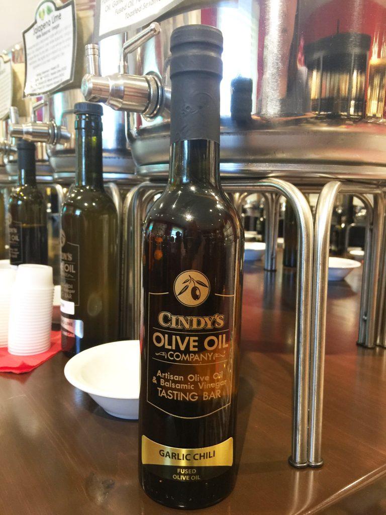 Olive Oil Fused- Garlic Chili - Cindy\'s Garden